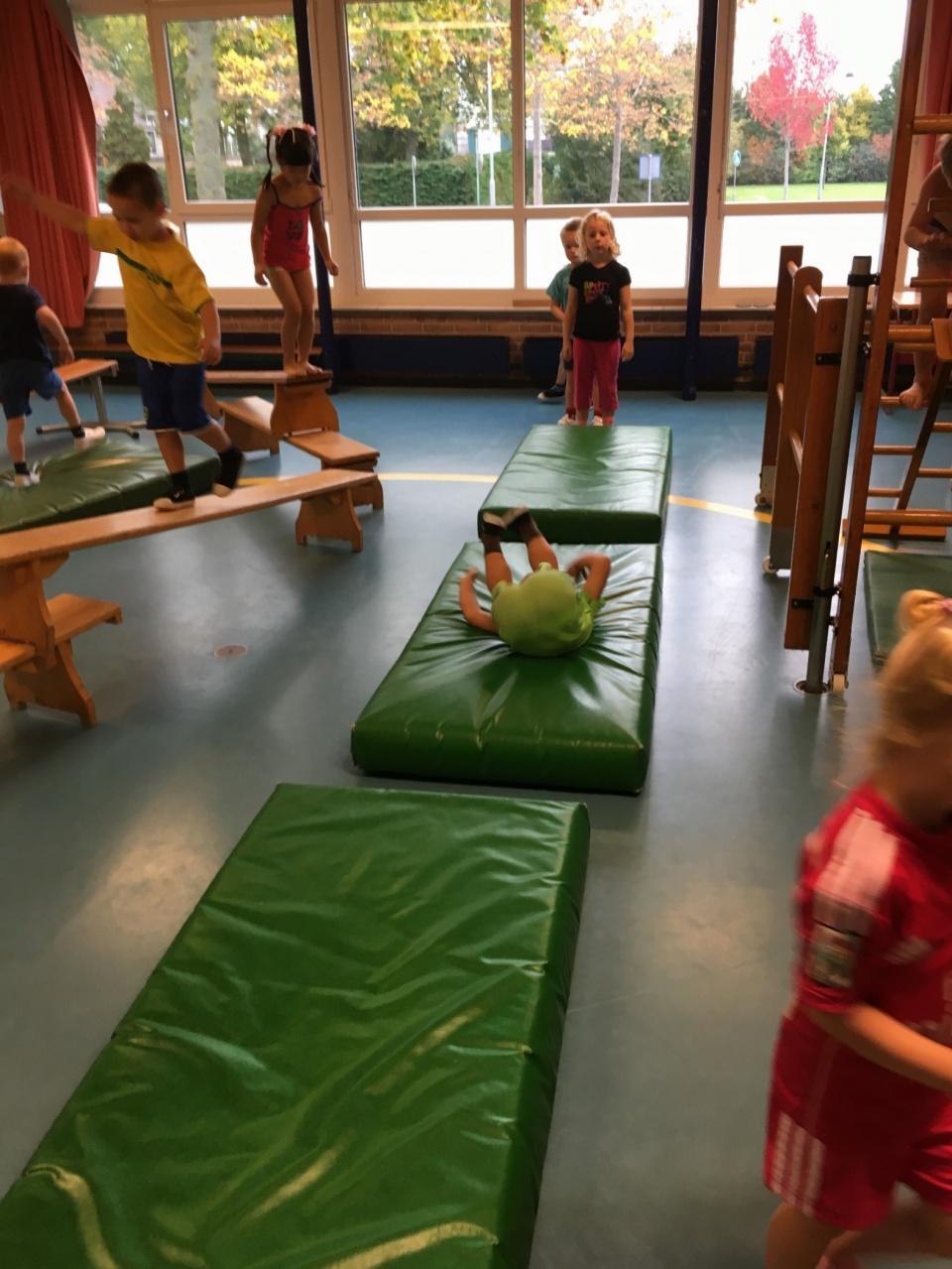 Gymmen!!! Wat vinden de kinderen het weer leuk!!<br />Denkt u wel nog even aan de gymspullen? Graag een shirt, broek en schoenen in een tas op school!
