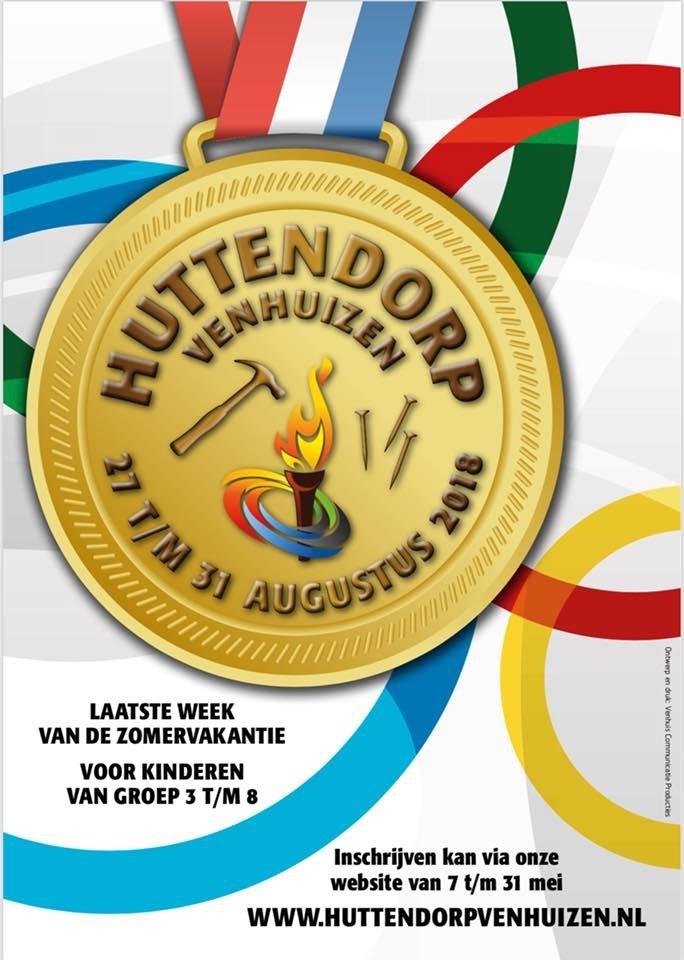 Inschrijving voor Huttendorp Venhuizen start morgen!