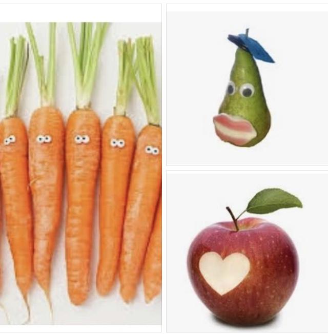 Het schoolfruit gaat beginnen!Week 46:1 zak bospeen voor 5 kinderen1 peer per kind1 appel per kind